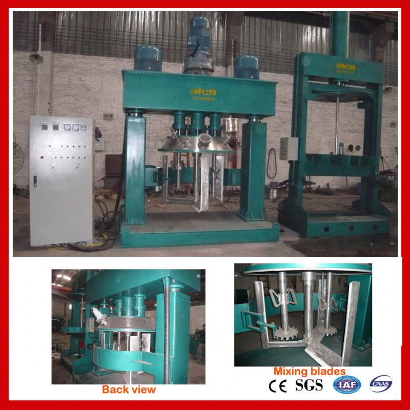 machine for high elastic crack sealing paste