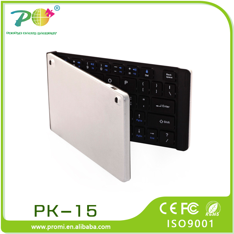 High quality bluetooth foldable keyboard with CE FCC ROHS Certification from China