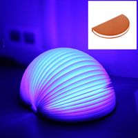New Coming Magic Folding Book Shaped Lamp, LED USB Rechargeable Lumio Book Lamp LED Night Light For Decoration