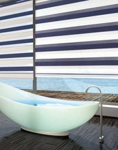 Factory direct sale zebra fabric blinds slats for window