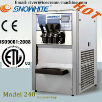 Made in China, Soft Serve Ice Cream Machine Counter Top