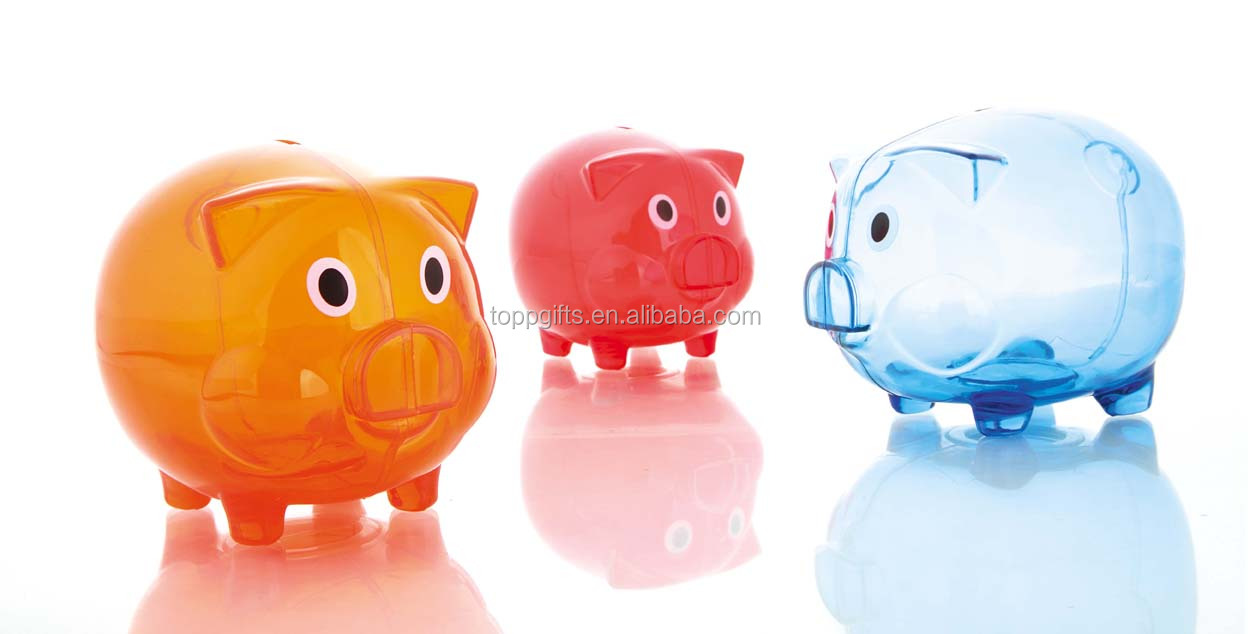 piggy banks for sale/acrylic piggy bank/piggy bank atm