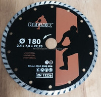 Diamond Disc 7inch 180x2.4x7x22.2 Turbo Continuous