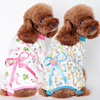 2017 New Hot Selling Style Four Cotton Print Pet Clothes Pajamas Pet Clothes for Dogs