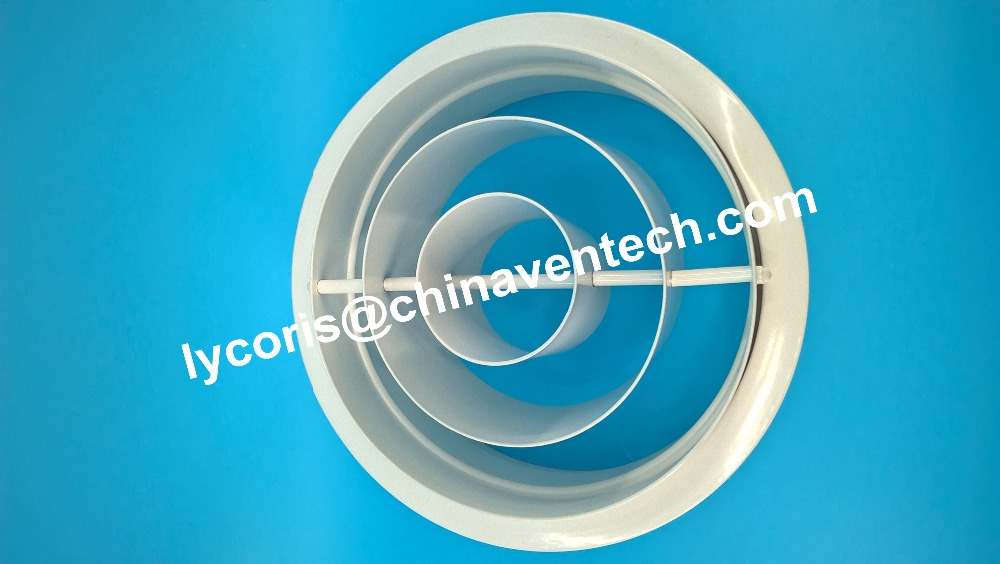 A/C duct for central conditioning round diffuser aluminum ring diffuser jet ring diffuser