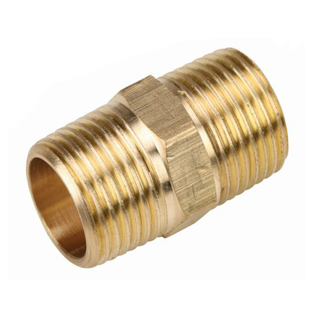 High Precision Competitive price Brass pipe Fitting Custom Coupling