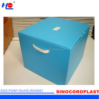 Plastic Corrugated Collapsible Packing Containers