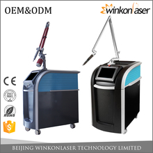 3000W laser mode built-in closed water circulation system 1064nm;755mm;532nm q switch nd yag laser tattoo removal for acne scars