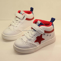 KS20044S Autumn new children 's shoes children' s board shoes wild breathable small white shoes