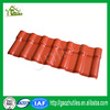 Green building materials plastic roof tile for modern house bamboo house Philippines