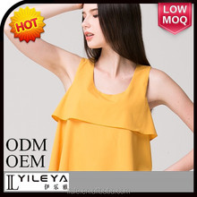 hot fashion plain ladies cotton tank top