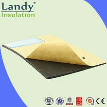 yellow foam pipe self adhesive thermal insulation sheet