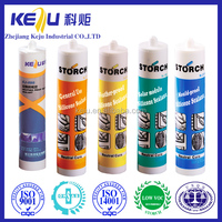 Acetic general purpose silicone rubber adhesive sealant