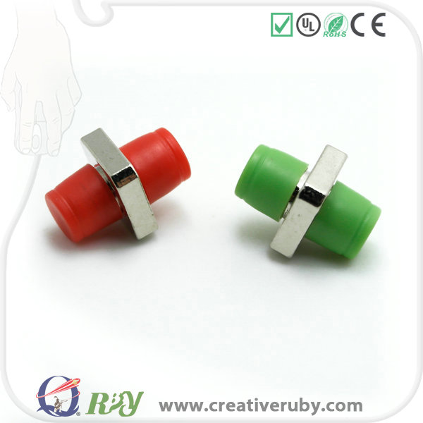 Factory direct sale with high quality ABS material Mating sleeve FC/APC fiber optic adapters