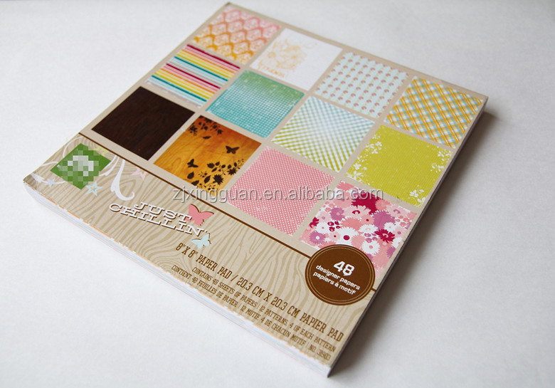 Handmade recycled textured Scrapbook Paper for paper craft