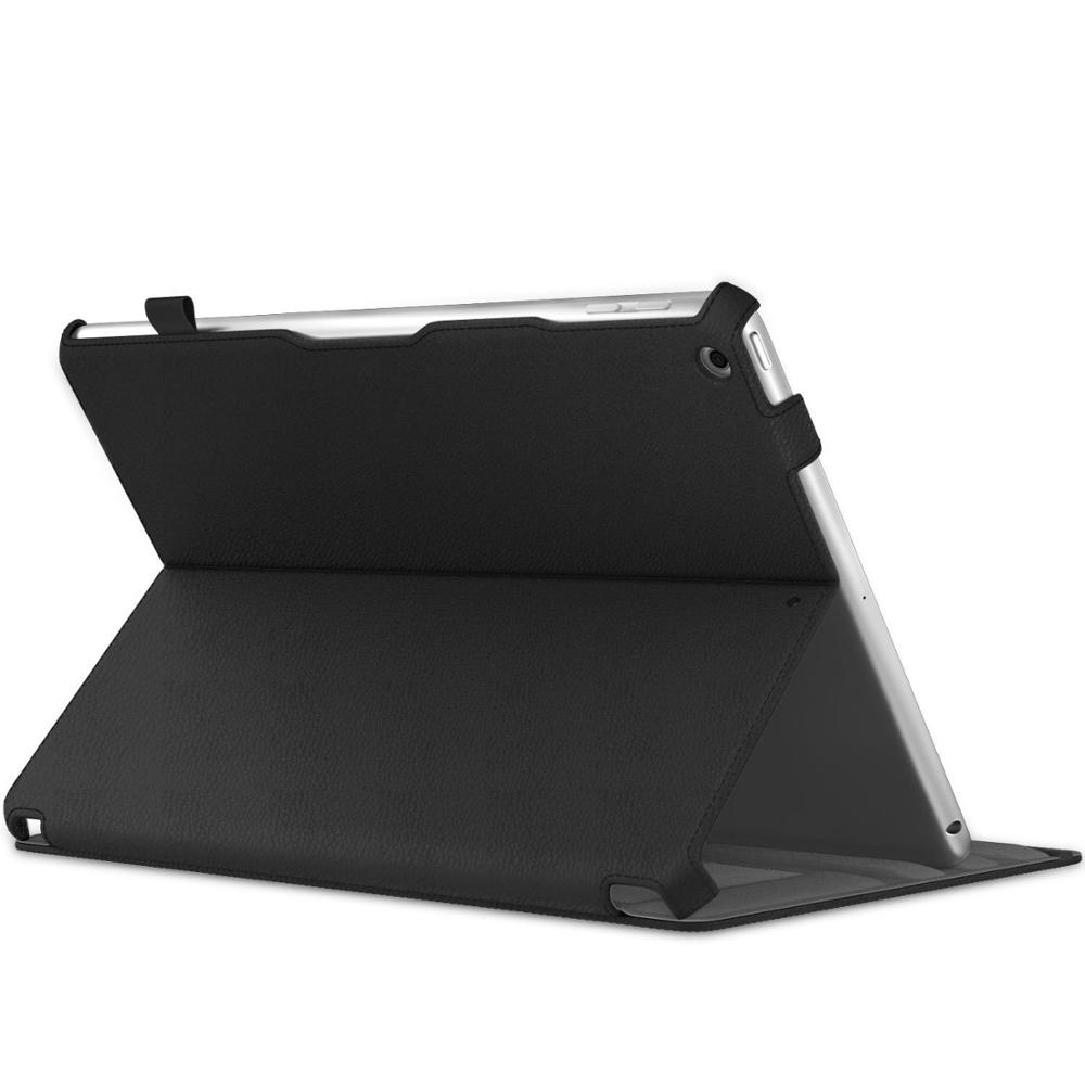 New Arrival Slim Fit Multi-angle Folio Cover Case for <strong>iPad</strong> 9.7 2018/2017