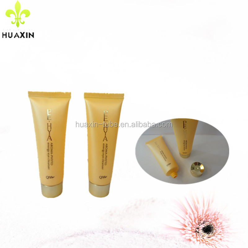 yellow gold eye ointment cosmetic tube 25ml