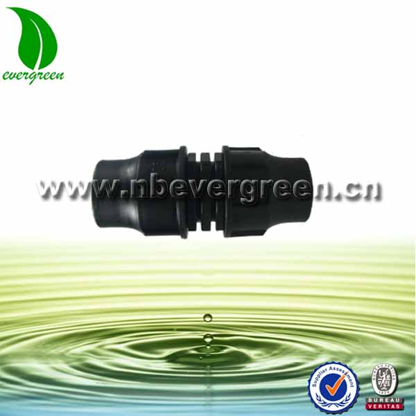Agriculture irrigation system HDPE pipe fitting equal quick coupling