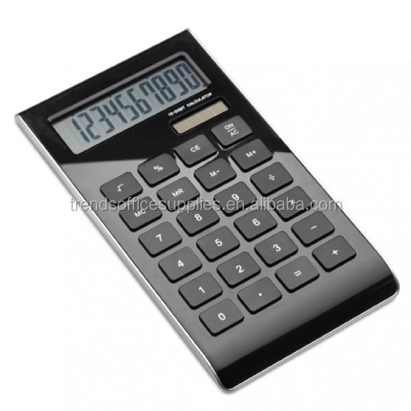 logo printing cell solar tabletop calculator