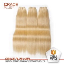 Wholesale Hair Weave Distributors 613 Virgin Brazilian Hair Weave, Honey Blonde 613 Curly Hair