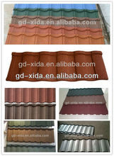 Metal stone coated roof tile in kerala