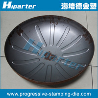 China tank cover stamping die maker, making Chinese tank cover punch die, tank cover stamping tool