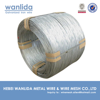 500kg galvanizing wire coil / 4mm galvanized mild steel wire
