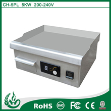 hot selling tabletop electric induction griddle flat plate