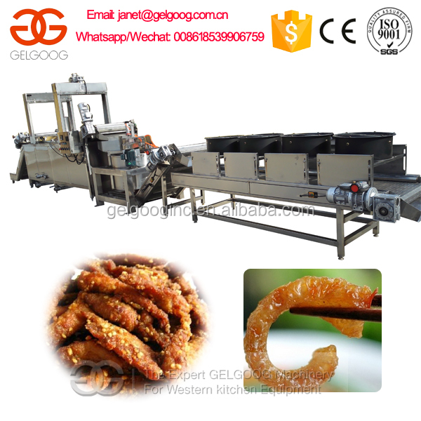 Automatic Conveyor Oil-Water Fryer Equipment