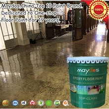 wearing resistant epoxy garage floor paint