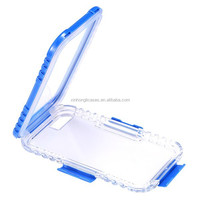 For iphone 6 Plus 5.5 Waterproof Case Clear Front & Back Phone Cover