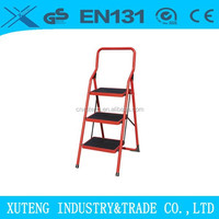 electric ladder lift,metal wide 5 step Ladder with handrail