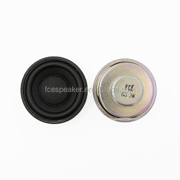 2inch 50mm 8ohm 3W raw speaker driver with full range for portable device