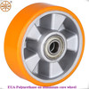 cart wheels/small size PU on aluminium core cart wheels