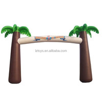 palm tree inflatable arch