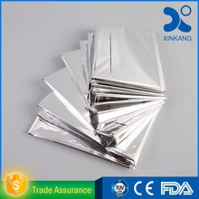 Medical use aluminum foil rescue insulation blanket