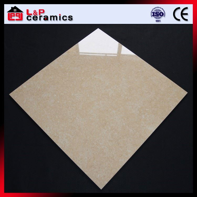 Dark yellow tulip anti-dirty floor tile porcelain for office building