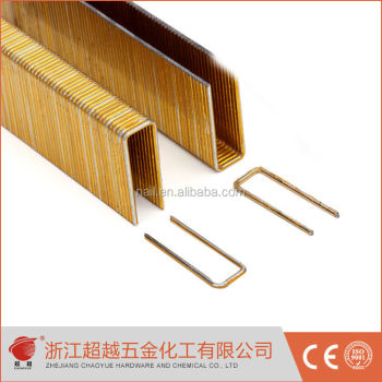 16GA/17GA 14B/ N/155/100 series U TYPE furniture heavy duty wire STAPLES