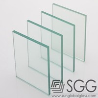 clear sheet glass/6mm thick clear float glass round flat glass plate