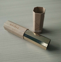 Hot Sale Recycled cylindrical Brown Kraft Paper Boxes for cosmetic