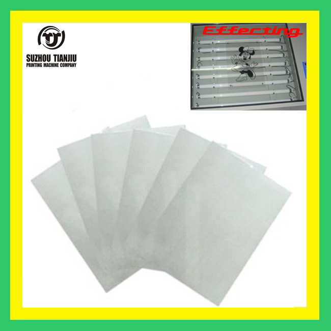 Screen printing transparent <strong>film</strong> Size is A4 100 sheets/package