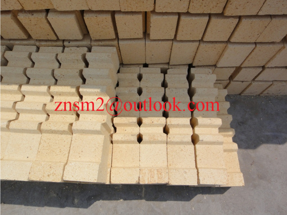 Superior thermal shock resistance Abrasive anchor brick