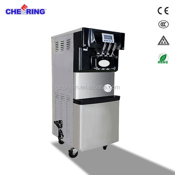 commercial kitchen equipment soft ice cream machine with puffing