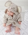 Children Animal shape baby longsleeve bathrobe with animal hooded fashion kids pajamas for baby