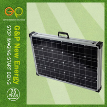 GP 2 folding Mono solar panel 140W with TUV,CE SOLAR CELL