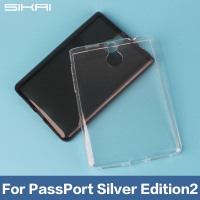 Sikai Promotion Pure Clear Transparent Soft TPU Gel Case Cover For Blackberry Passport Silver Edition 2 Back Case