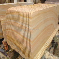 2015 Hot Sale sandstone, yellow flexible sandstone