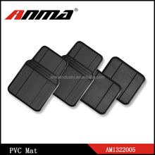 unique thin original black PVC universal Rubber car mat