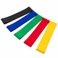 12INCH by 2INCH 600*50MM Factory Wholesales Direct Selling Latex Resistance Loop Bands Set with Branded Promotional Material