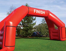 pvc vinyl/tarpulin inflatable race arch, outdoor events inflatable sports arch